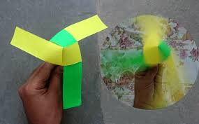 how to make a paper fan how to make a rotating paper fan origami youtube