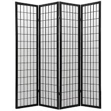 chinese room divider 4 panel screen with high relief carved and