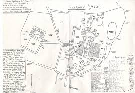 sketch map of hms ganges site done in 1968 shhmg a1034 on ehive