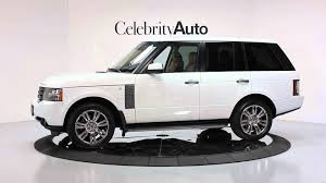 2011 land rover range rover hse luxury interior pkg wood and