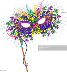 mardi mask new orleans mardi gras mask vector getty images