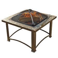 Bed Pit Sunjoy 32 Inch Wood Burning Slate Fire Pit Bed Bath U0026 Beyond