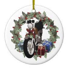motorcycle ornaments keepsake ornaments zazzle