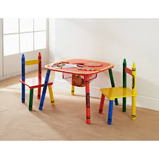 childrens table and 2 chairs crayola kids table chairs set 3pc kids furniture b m