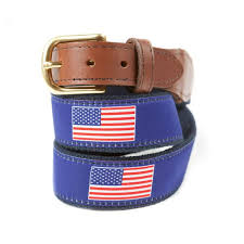ribbon belts ribbon belts with american flag knot clothing belt co