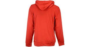 adidas originals men u0027s chicago bulls quick draw hoodie in red for