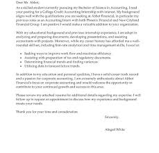 cover letter with internship experience cover letter example