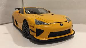 orange lexus lfa 1 18 autoart lexus lfa nurburgring package