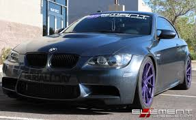 stance bmw 20 inch staggered stance sf01 purple metallic custom color on