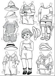Paper Doll Coloring Pages Printable Nzherald Co I Coloring Pages