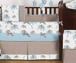 Elephant Crib Bedding For Boys Elephant Crib Bedding Boy Baby Room Pinterest Crib