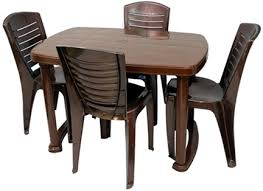 nilkamal kitchen furniture nilkamal marvel table 4025 chairs combo fkada