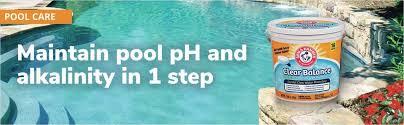 arm u0026 hammer clear balance pool maintenance tablets walmart com