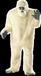 abominable snowman costume gorilla costume mascot costumes wolf big foot abominable