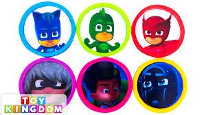 learn colors pj masks disney jr catboy gekko luna