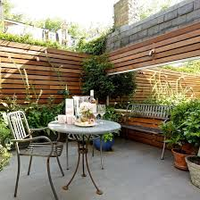 6 ways to style your outdoor space walled garden pink accents