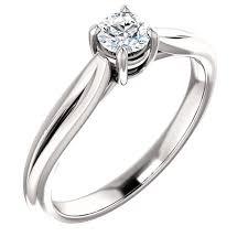 inele logodna aur alb inel de logodna din aur alb 14k cu diamant 0 25 ct marimea 49
