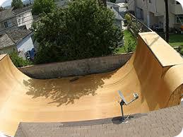 Backyard Skateboard Ramps by Halfpipe Ramp Plan 10 Foot