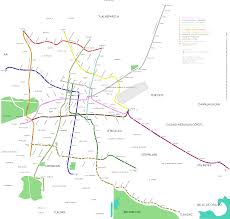 Map Mexico City by File Map Of The Stc Metro Of Mexico City English Svg Wikimedia