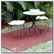 rubber patio tiles over concrete patios home design ideas