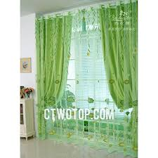 Green Sheer Curtains Lime Green Sheers Cheap Lotus And Willow Leaf Lime Green