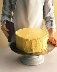 how to assemble a layer cake martha stewart