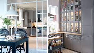 fermer une cuisine ouverte modele cuisine ouverte avec bar cuisine by atelier fb cuisine