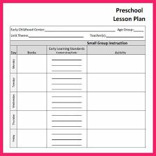 printable lesson plan template lesson plan template u2026 best 10