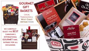 canada gift baskets gourmet food gift baskets from vancouver canada pacific basket