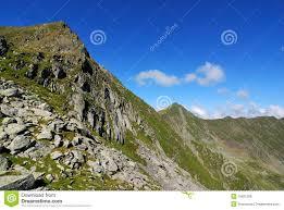 Alps Mountains Map Transylvanian Alps In Romania Carpathian Ridge Royalty Free Stock