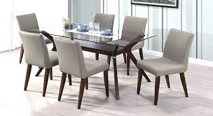 glass top dining table set 6 chairs glass top dining tables glass top dining table sets spacious glass