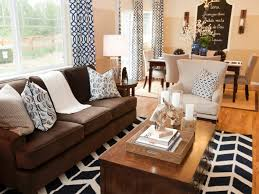 what colors match with brown modern floor lamps in this living