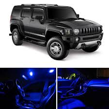 amazon com ledpartsnow hummer h3 2005 2010 blue premium led