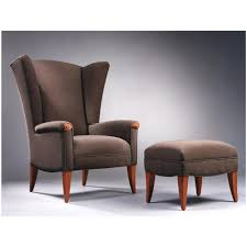 Ottoman Armchair Creative Of Armchair With Ottoman With Wing Chair Chairs Ottomans
