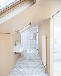 loft bathroom ideas azman architects loft bathroom birch ply wall finish plywood