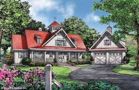 House Plans With Breezeway Home Plans With Detached Garages From Don Gardner