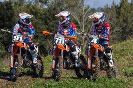 junior motocross racing kini ktm junior racing team set for 2017 european championship