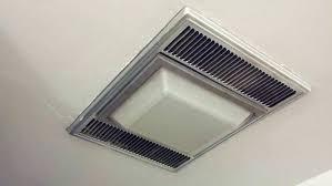 heater and fan in one broan ceiling exhaust fan with light top exceptional shower fan
