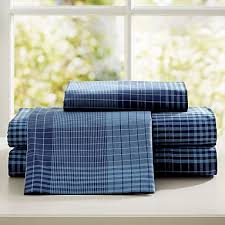 Twin Plaid Bedding by Navy Plaid Bedding Pbteen
