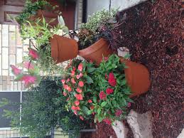 Terra Cotta Fire Pit Home Depot by Terra Cotta Topsy Turvy Flower Pot Tower Planter Diy Saw This In