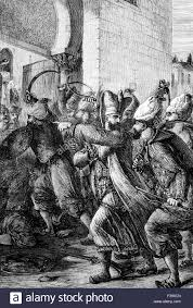 Ottoman Reform The Attack 1807 On The Seraglio And Palace In Constantinople By