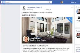 zephyr real estate launches facebook and instagram ad platform