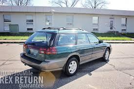 subaru station wagon 2007 1997 subaru legacy outback wagon 55 017 miles carwrex subarus