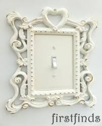 fancy light switch covers triple light switch plate shabby chic white ornate framed electrical