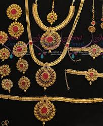 wedding jewellery sets br7372 bridal wedding jewellery set invisible