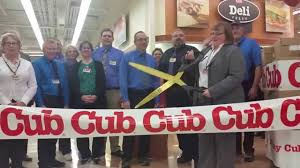 cub foods thanksgiving cub foods northfield re grand opening giant scissors ribbon