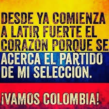 imagenes chistosas hoy juega colombia cunado colombia juega al corazon me llega no importa si perdemos