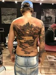 tattoo troll nature ink blackandgrey norse vikings fable