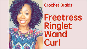 fortress soft dread hair freetress 2x ringlet wand curl natural looking crochet braids