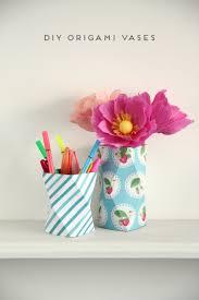 3d Origami Flower Vase Tutorial Diy Origami Vase U2013 Craftbnb